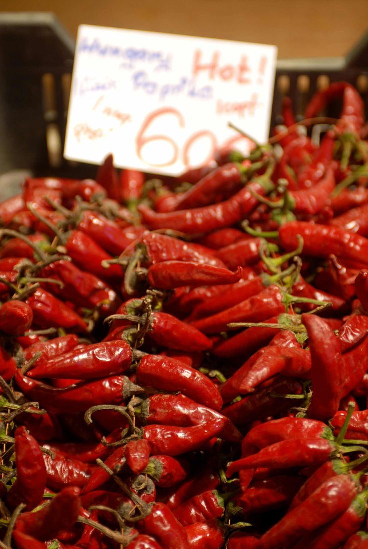 Hungarian Red peppers- Paprika set to undergo an economic comeback? more...