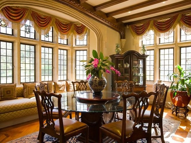 stunning dining rooms | 117 best Beautiful - Dining Rooms images on Pinterest ...