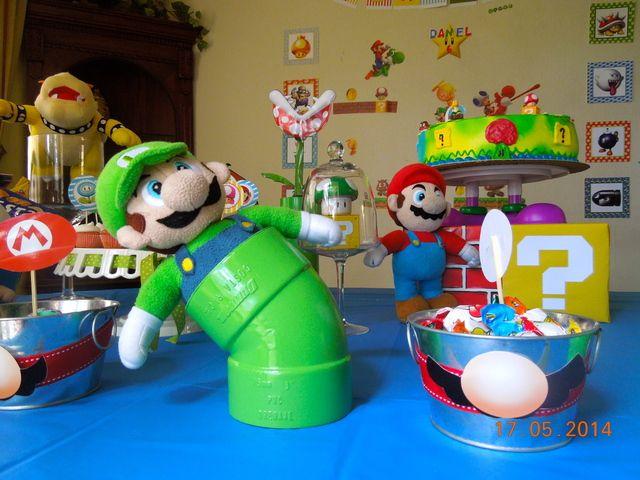 Decoración original de Mario kart