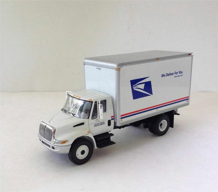 First Gear USPS PRIORITY MAIL 2002 Truck Metal Diecast