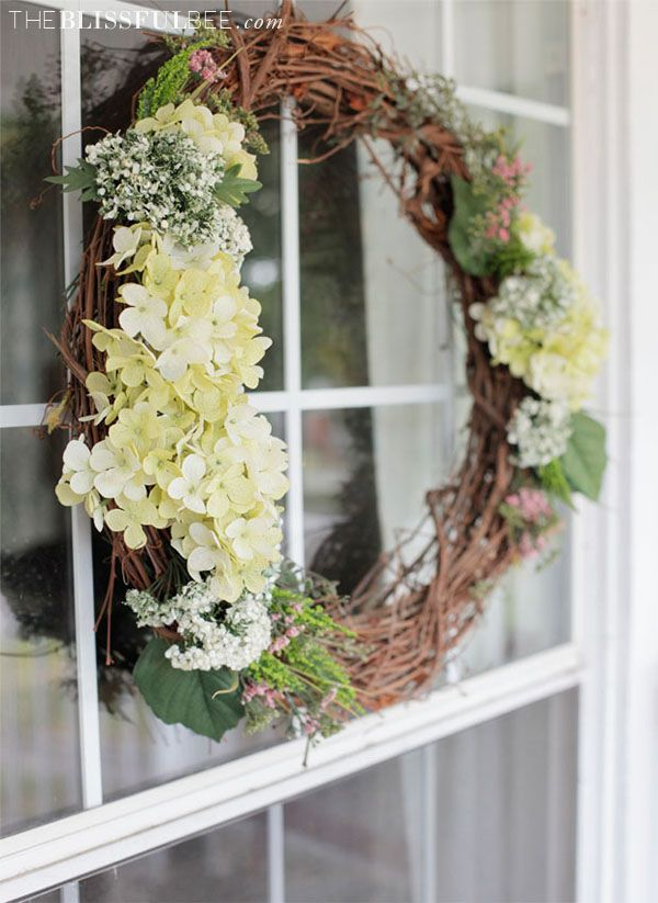 DIY Summer Wreath + Video Tutorial - The Blissful Bee Blog