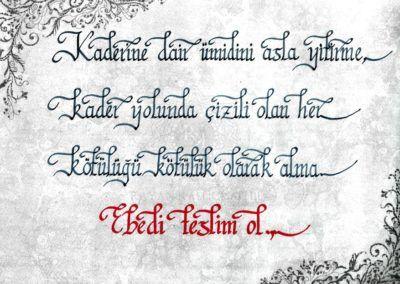 #kader #.. #ebedi #teslim #ol 👍  | ➡  | 📝    🔹 https://facebook.com /rayankalligraphie 🔸 http://rayankalligraphie.de      #kalligrafi #kalligraphie #kalligrafie #calligraphy #callygraphie #art #sanat #kunst #budageceryahu #rayankalligraphie #moderncalligraphy #brushcalligraphy #calligraphyph #calligraphyart #arabicCalligraphy #calligraphymasters