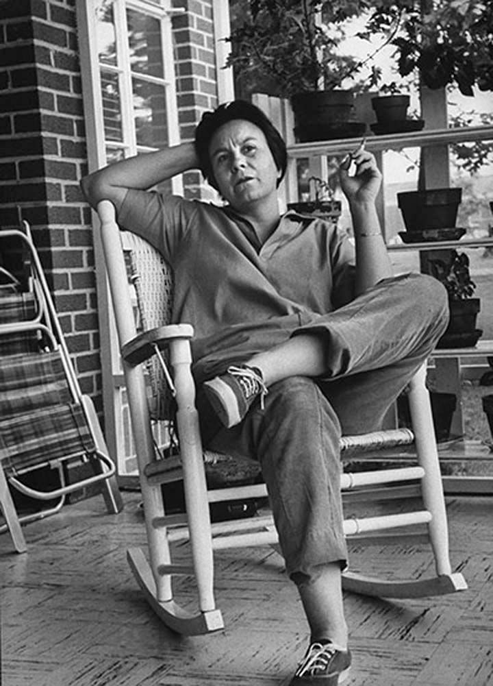 Harper Lee ~ Author of 'To Kill A Mockingbird' (love this picture of one of my favorite Southern authors)