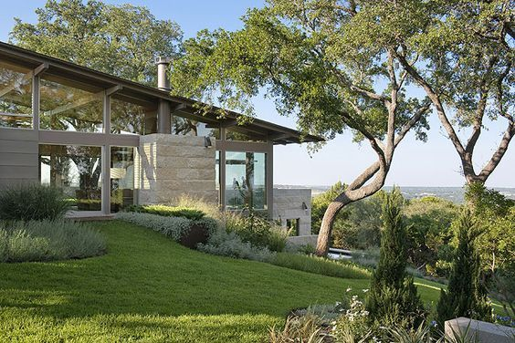 hillside house, austin: