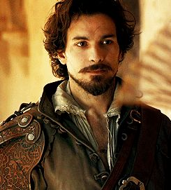 Santiago Cabrera as Aramis in BBC's The Musketeers | I loved him as Lancelot and I love him as Aramis.