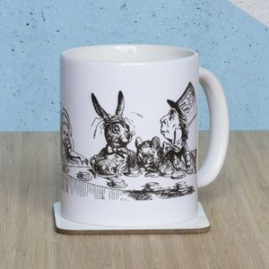 Alice In Wonderland 'We're All Mad Here' Mug - home sale