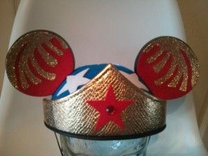 Wonder Woman Ears