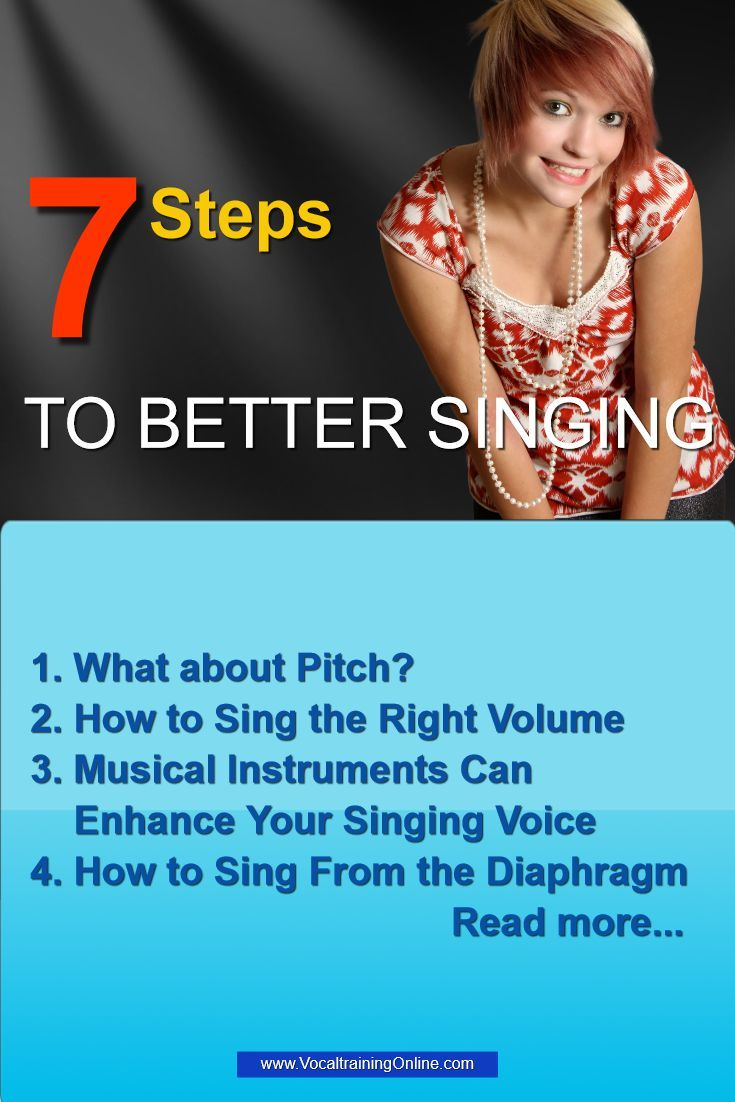 7 Tips Help You Learn How To Sing Better Amaze Yourself By Turning Your Voice Into A More Powerful On Key Vocal Sy Singing Tips Vocal Training Vocal Lessons