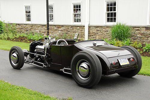 hot rod t bucket roadster   1927 roadster real steel body hot rod t bucket model t ford 1932 grill ...