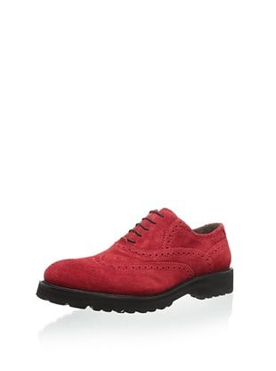 56% OFF Bruno Magli Men's Malachi Balmoral Wingtip (Red)