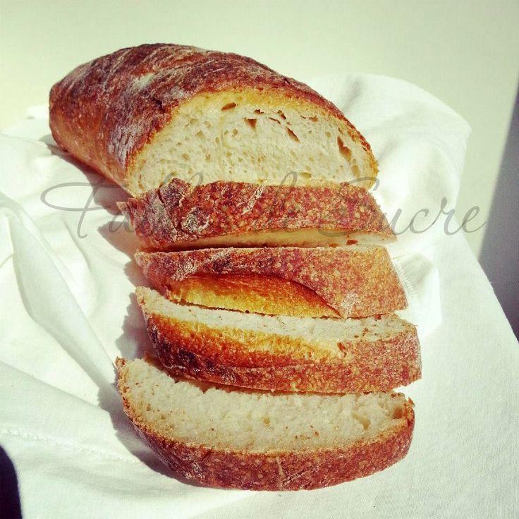 Pane al kamut con pasta madre