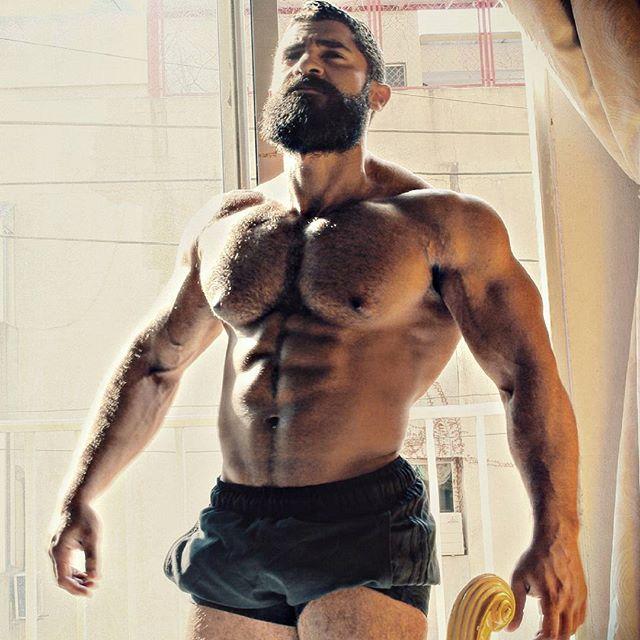 Big muscle bro on asian muscle bro 3