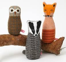 Little Owl, Badger and Fox; www.sallyweatherill.co.uk