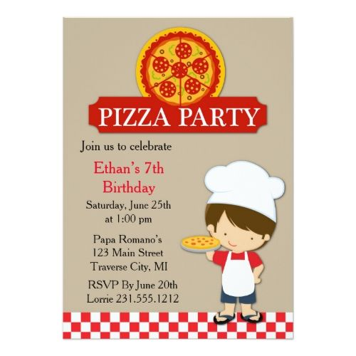 120 best pizza birthday party invitations images on pinterest pizza birthday party invitations pizza party birthday boy card stopboris Image collections