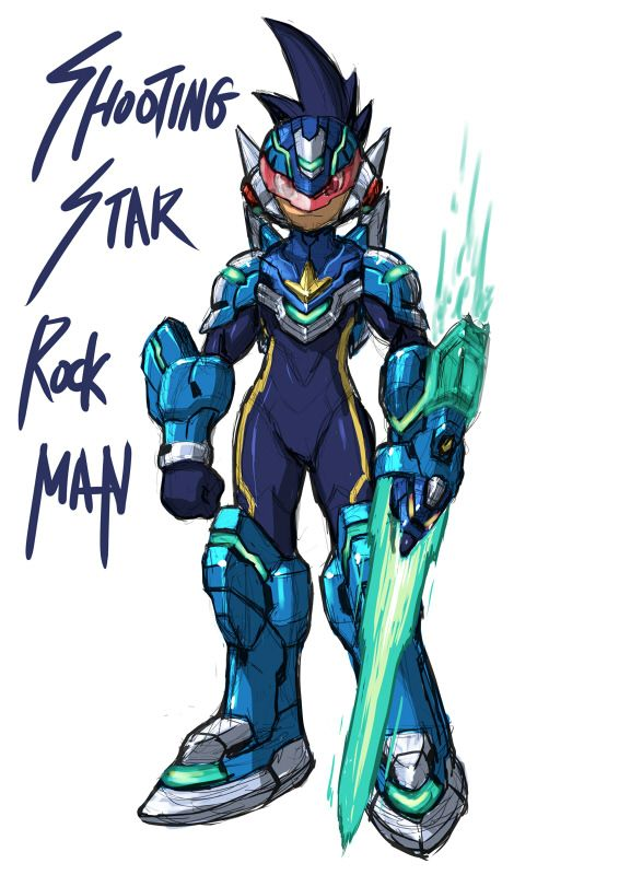 Shooting star rockman google search