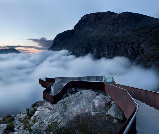 Trollstigen lookout point by Reiulf Ramstad Architects
