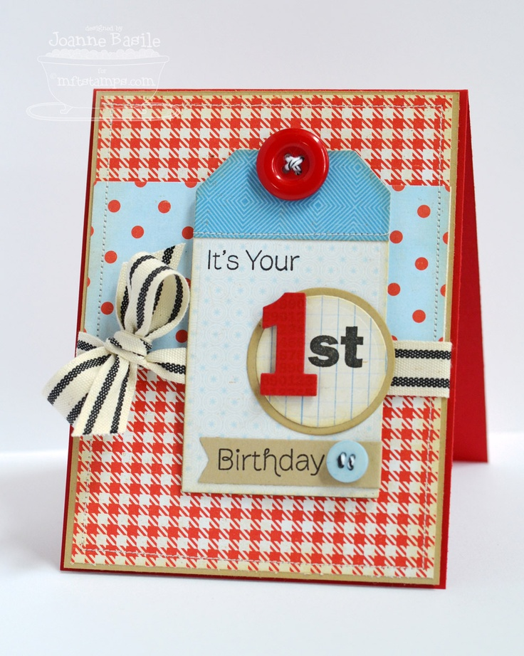 ...just a little something....: Happy 1st!
