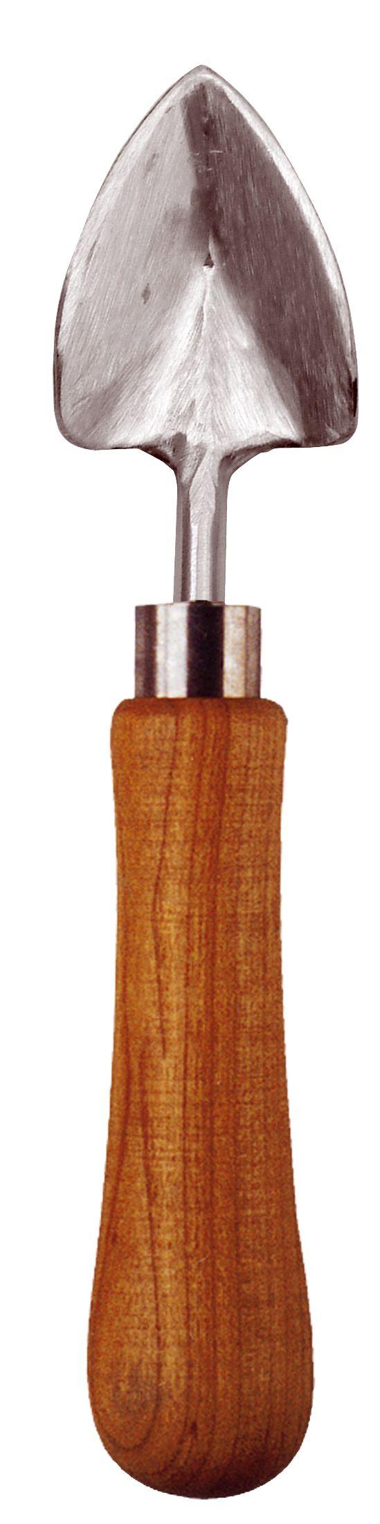 Een kleinere versie van het verplantschopje dat speciaal ontwikkeld is vvoor gebruik in kassen, balkontuinieren, kweekbakken etc. Dus uitermate geschikt voor het voor het kleine handzame werk!