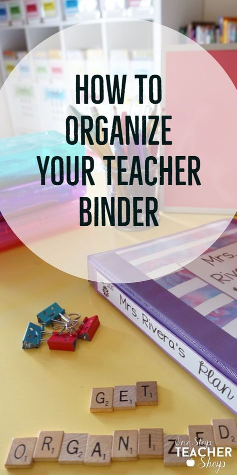 My teacher binder helps me stay organized all year. Here are some of my favorite tips and ideas for putting together the best teacher binder. See my lesson plan templates, teacher binder covers, and more! (I can't live without number 5) Teacher Planner