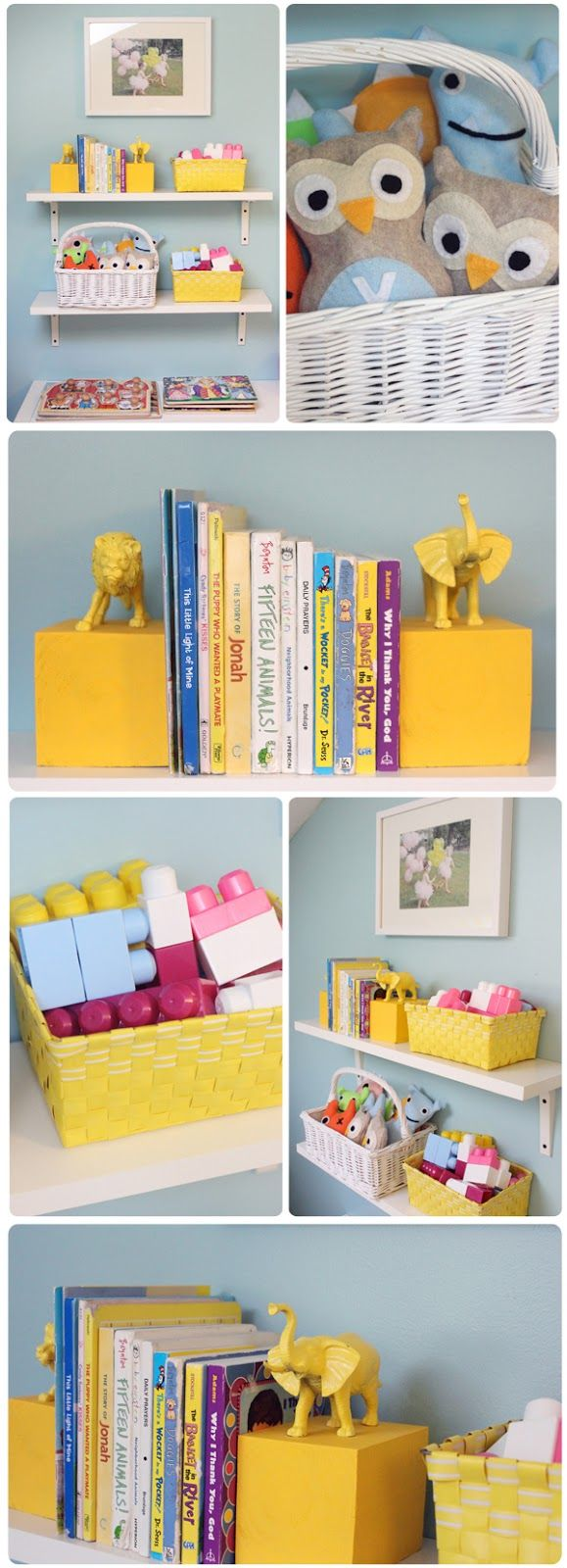 The Busy Budgeting Mama: Playroom Reveal - DIY Details & Storage Solutions