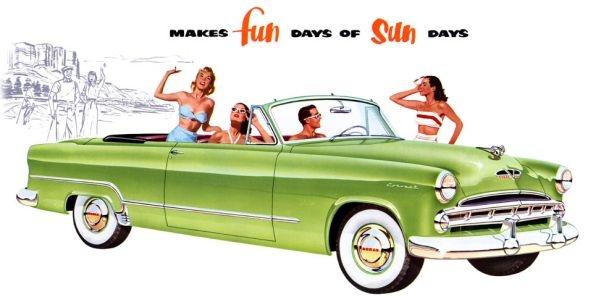 1953 Dodge Coronet Convertible
