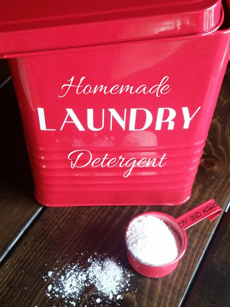 Try this Homemade Natural Allergen-Free Laundry Detergent for clean clothes that don't smell like a fake spring breeze!