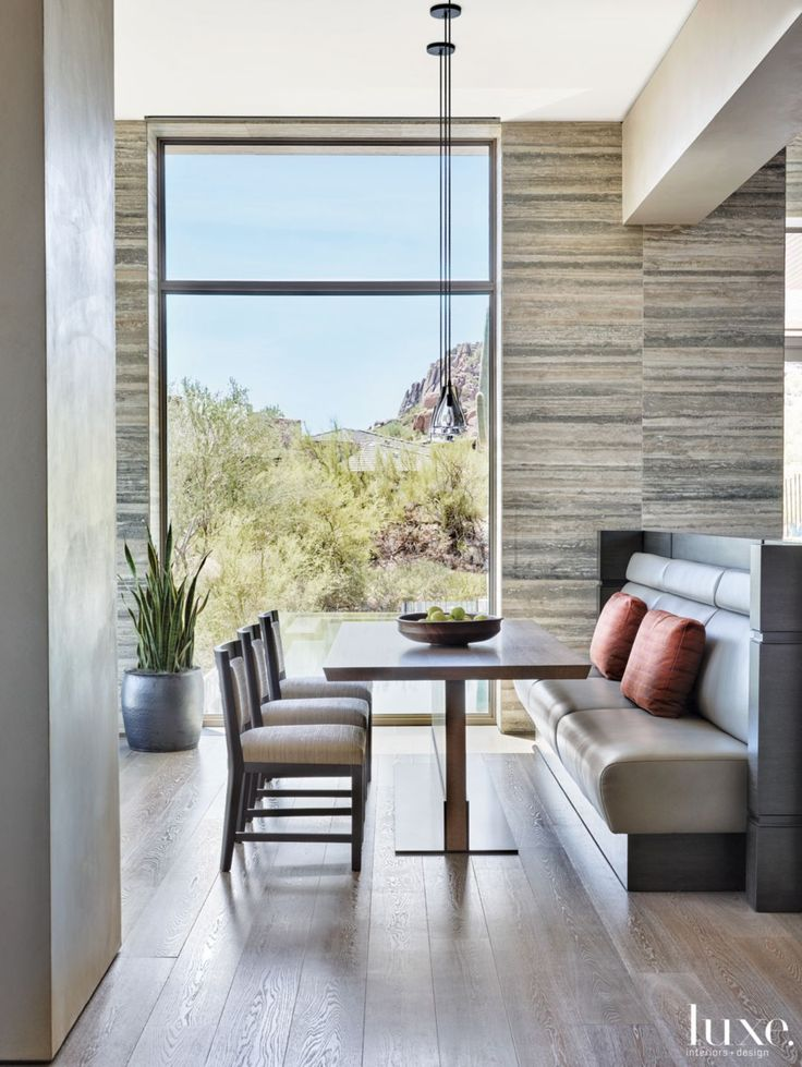 Memphis Modern Simple Dining Room: 21 Banquette Designs You'll Lust After