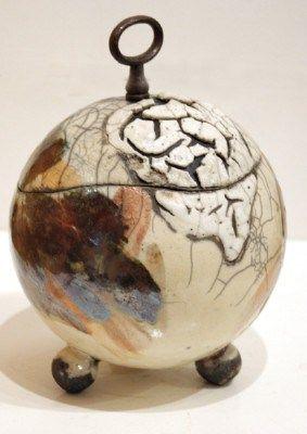 Raku Keramik Krakelee Matthias Lehmann