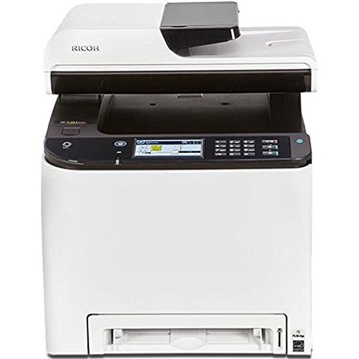 VISIT OUR EBAY STORE Ricoh SP C261SFNw All-in-One Color Laser Printer Condition: Brand New in Original Packaging SKU: 408235 Features Easily manage co... #printer #laser #color #ricoh