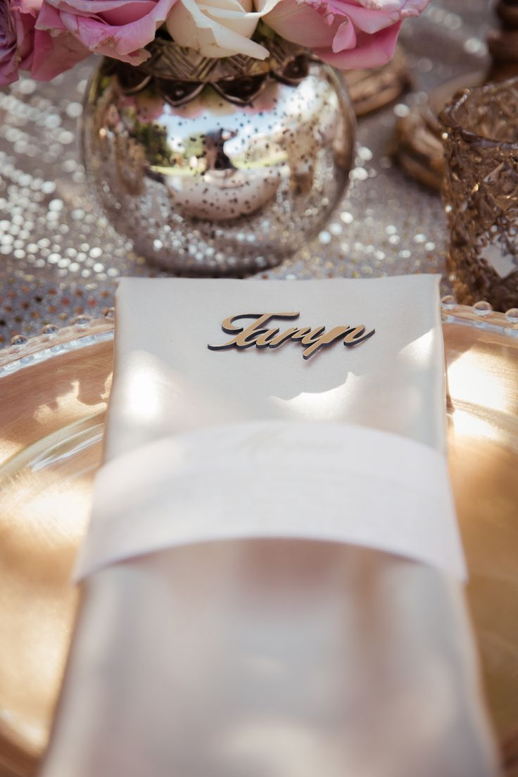 Gold and Blush Glamorous Picnic Inspiration by Blue Olive Events Stationery by Lily Young Designs