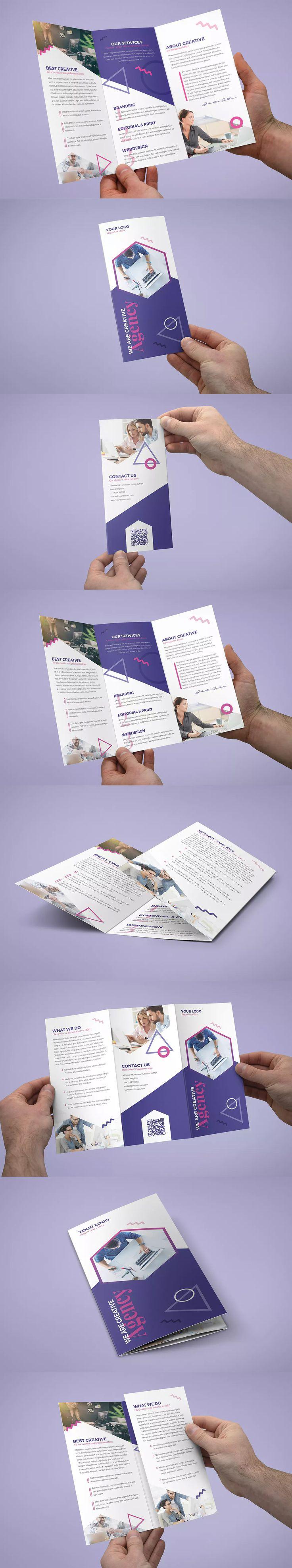letter size brochure template - best 25 tri fold brochure design ideas on pinterest