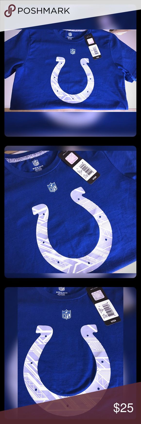 Colts NFL Team Apparel T shirt Size Youth Medium Colts NFL Team Apparel T shirt Size Youth Medium. NWT. NFL Team Apparel Shirts & Tops Tees - Short Sleeve