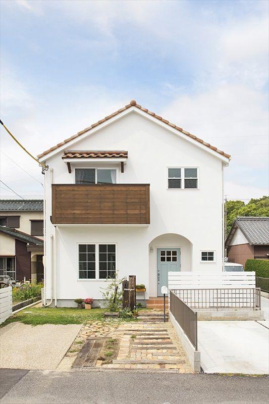 ジャストの家[公式] 明るいフレンチカラーの家