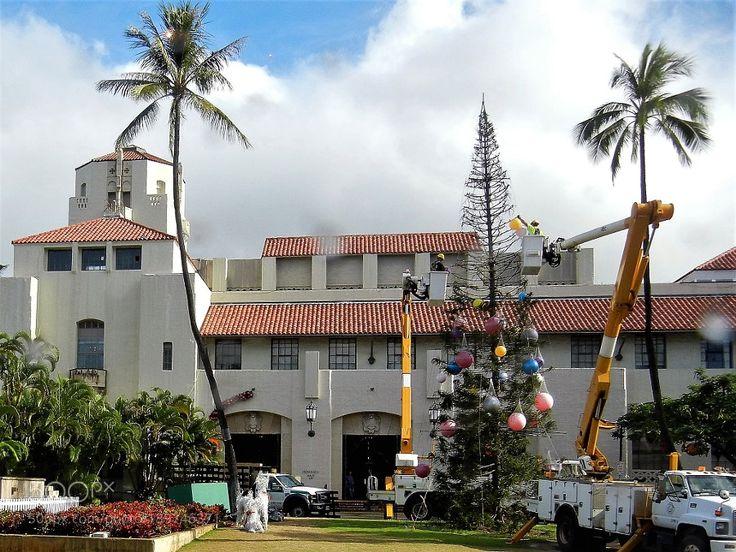 Popular on 500px : Decorating Honolulu Hale by marina_vasiljevic1
