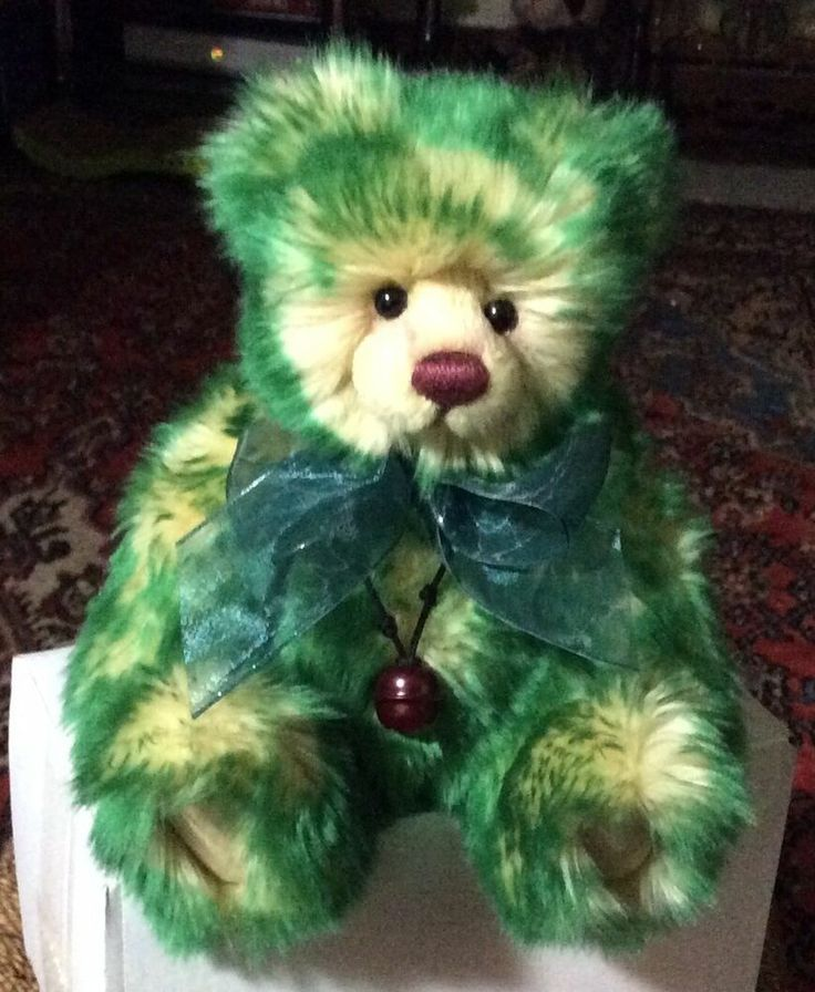 CHARLIE BEAR SPROUT PLUSH NOW RETIRED