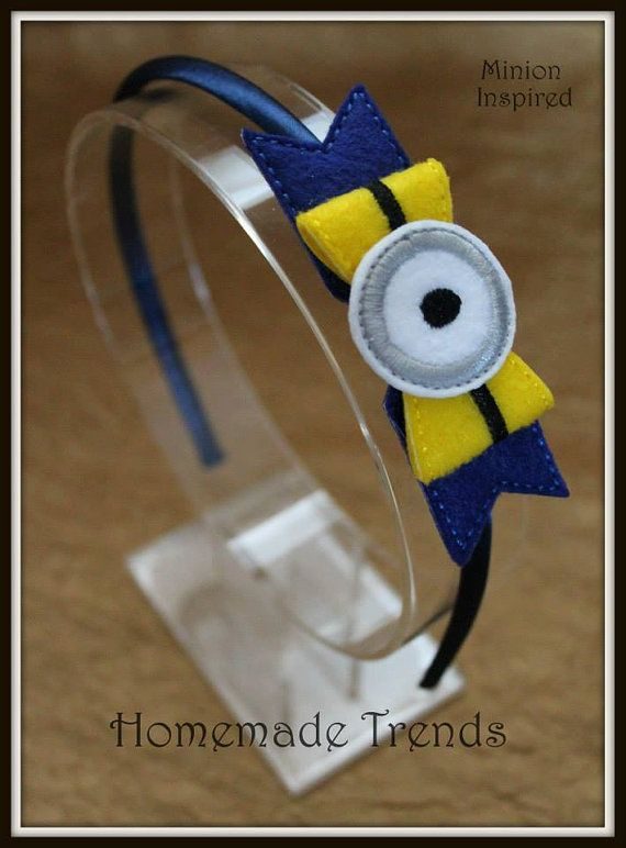 Crazy OneEyed Guy Inspired 3D Bow Headband by HomemadeTrends, $7.50