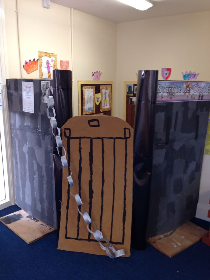 New castle role play area linked to traditional tales