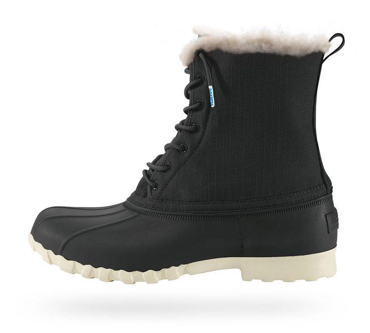 Jimmy winter - Jiffy Black/Bone White   Native Shoes — Keep it Lite