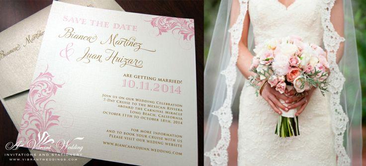 A Vibrant Wedding Invitations www.vibrantweddings.com