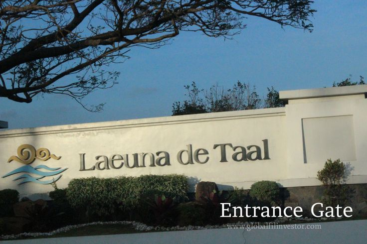 Laeuna de Taal Lake Entrance Gate January 2014 tripping