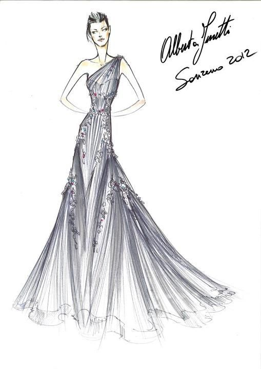 207 best haute couture sketches images on Pinterest
