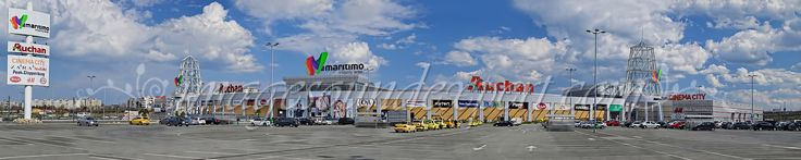 fotografii panoramice, maritimo shopping center, panoramic photography,