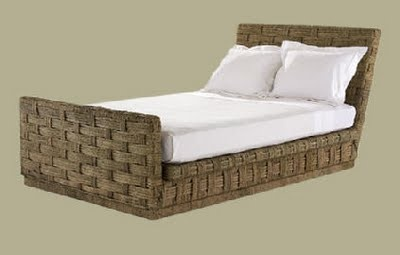 John Himmel bed with footboard, available through the Ainsworth-Noah showroom.