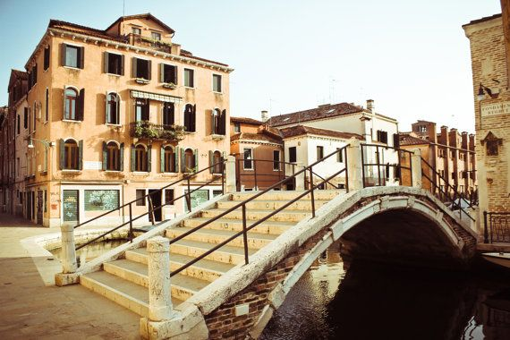 Venice Photography, Italy Fine Art Print | Venetian Bridges | Archival Ink & Paper, Canvas, Metal, Free Shipping USA