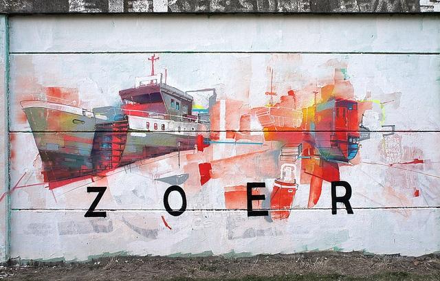 ZOER. #zoer http://www.widewalls.ch/artist/zoer/ #street_art #zoer