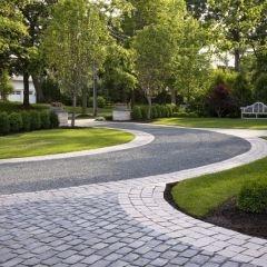 cobblestone driveway?