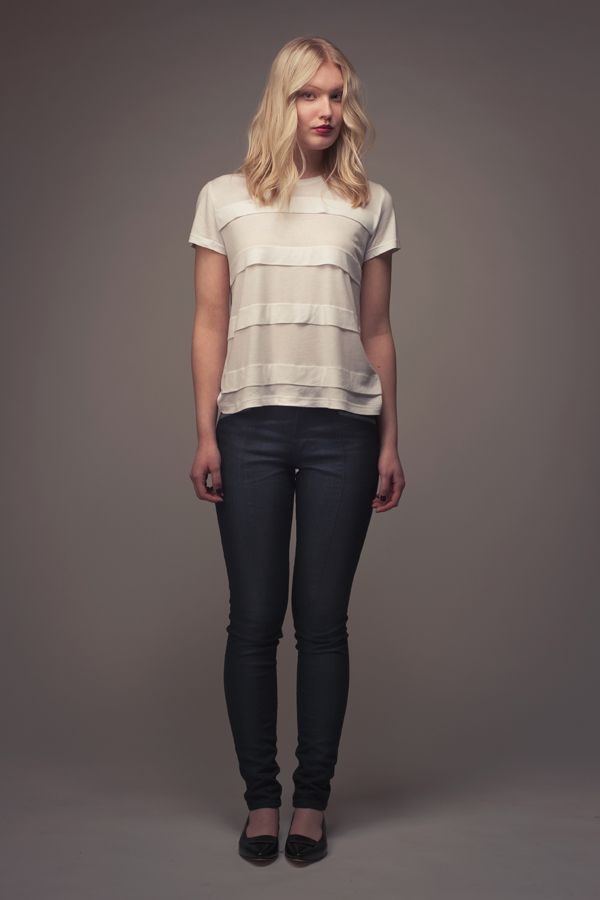Laurie Striped Tee - Named