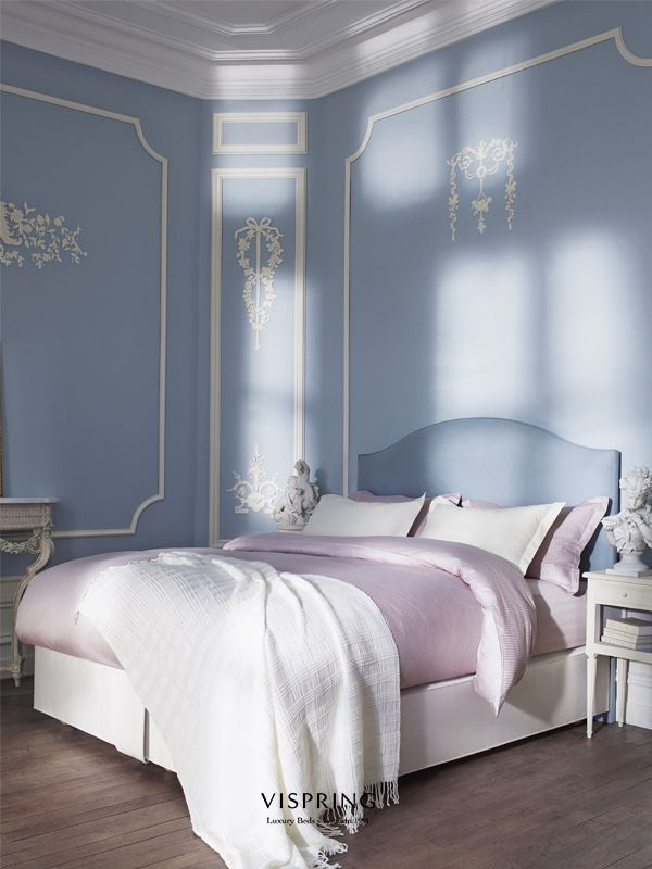 Reassuringly traditional, it bathes in a serene atmosphere of order and  proportion.  Vispring Inspiration Victorian Home Deco bed luxury beds ,room Luxe bedden en bedlinnen  Slaapkenner Theo Bot Zwaag www.theobot.nl