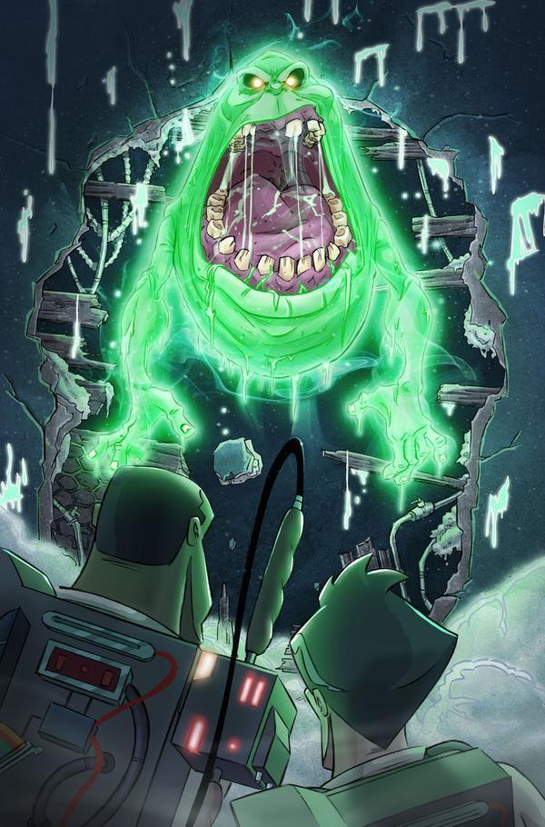Spud By Danschoening Movie Art Slimer Ghostbusters Ghostbusters