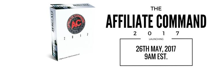 Affiliate Command 2017 is a full 11 module system that walks you step by step through how to set up your online business to make money.